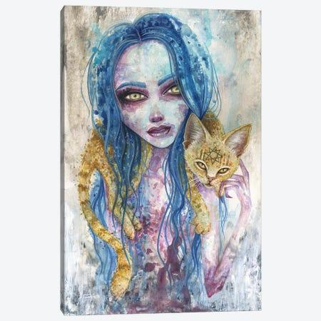 For Now We Live Canvas Print #MAJ27} by Megan Majewski Canvas Art