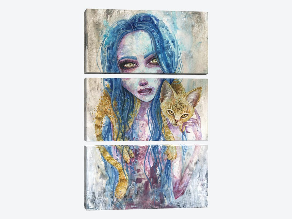 For Now We Live by Megan Majewski 3-piece Canvas Wall Art