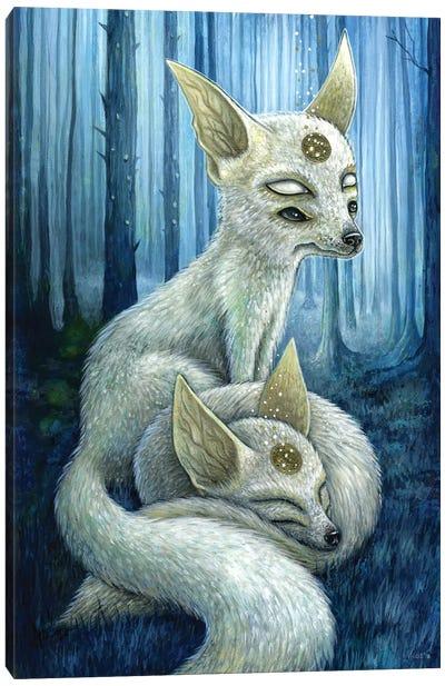 Freyr & Frigg Canvas Art Print