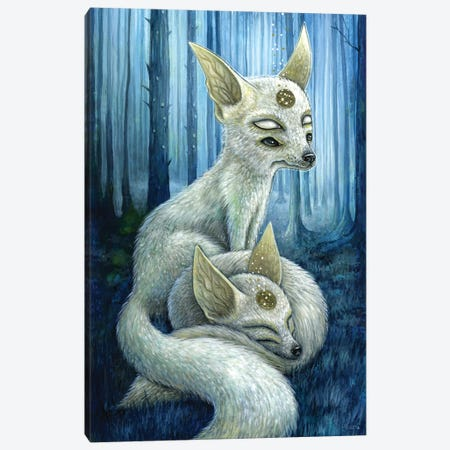 Freyr & Frigg Canvas Print #MAJ28} by Megan Majewski Canvas Art Print