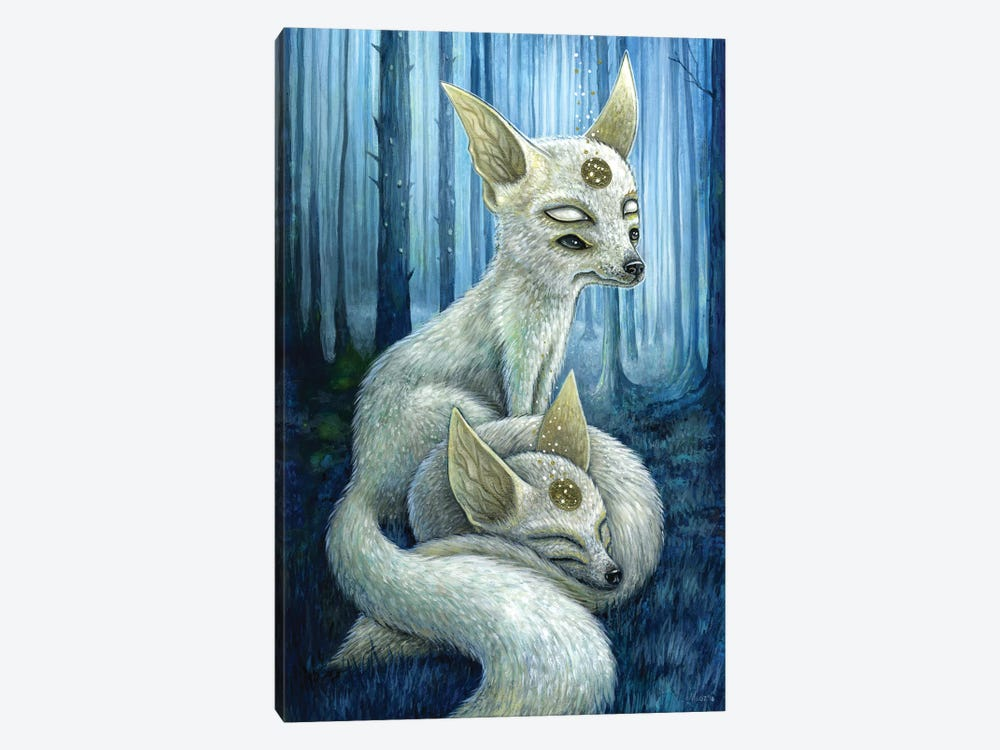 Freyr & Frigg by Megan Majewski 1-piece Canvas Print
