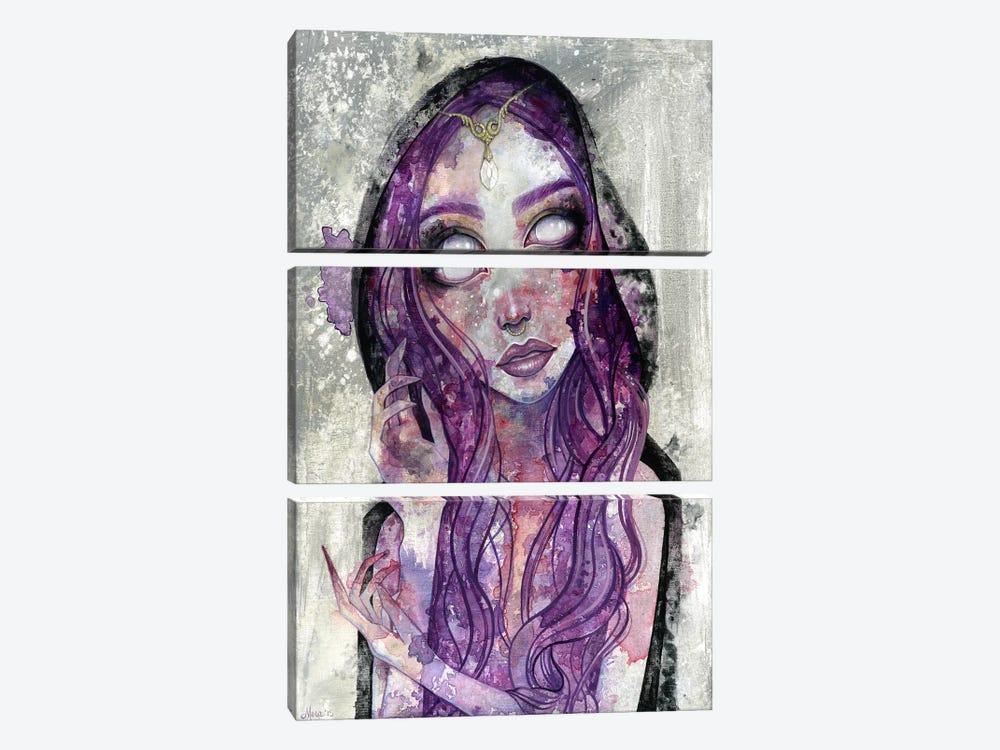 Absorb Their Poison by Megan Majewski 3-piece Canvas Print