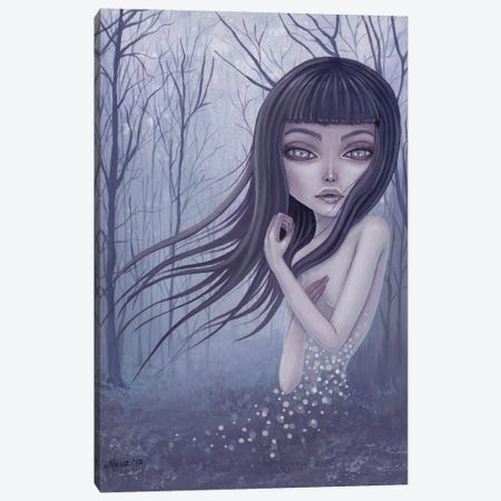 Into The Fog Canvas Print #MAJ31} by Megan Majewski Canvas Wall Art