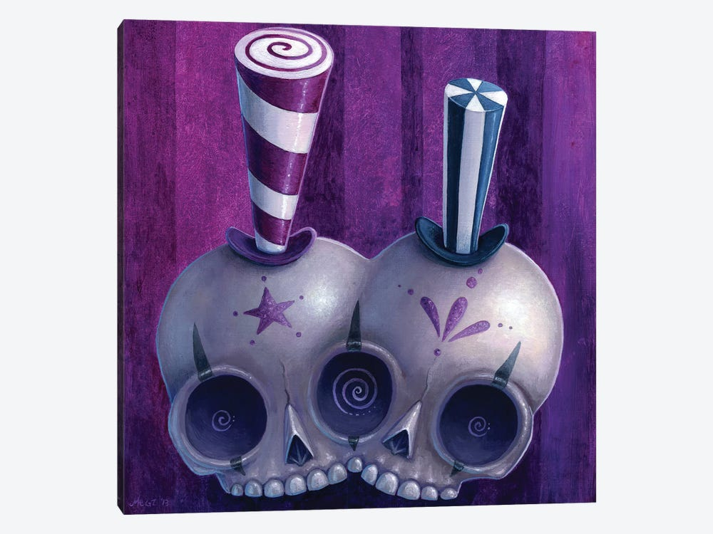 Lulu & Yoyo by Megan Majewski 1-piece Art Print