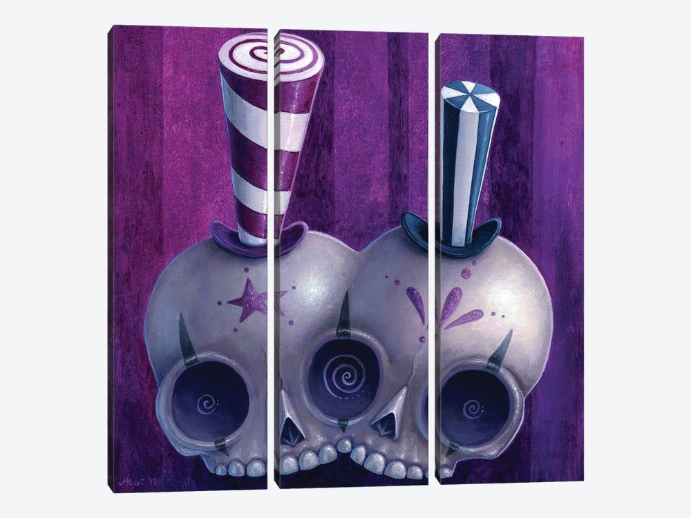 Lulu & Yoyo by Megan Majewski 3-piece Canvas Print