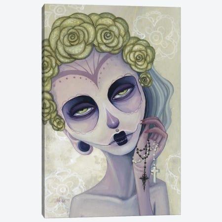 Mia Canvas Print #MAJ39} by Megan Majewski Canvas Wall Art