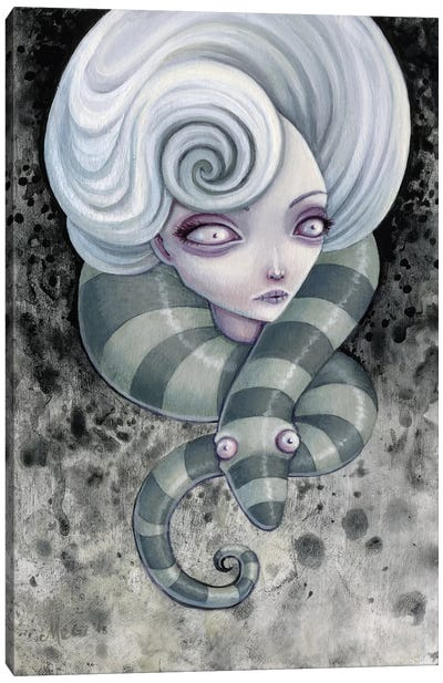 Nightmares Canvas Art Print