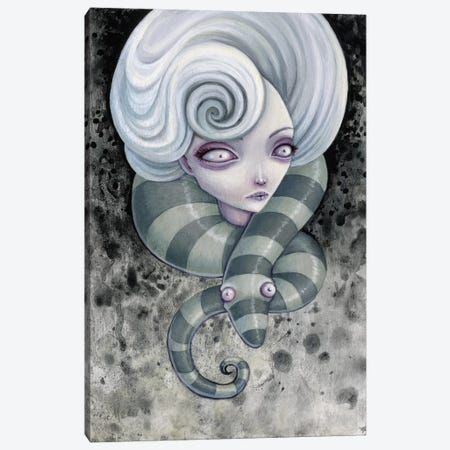 Nightmares Canvas Print #MAJ41} by Megan Majewski Canvas Art Print