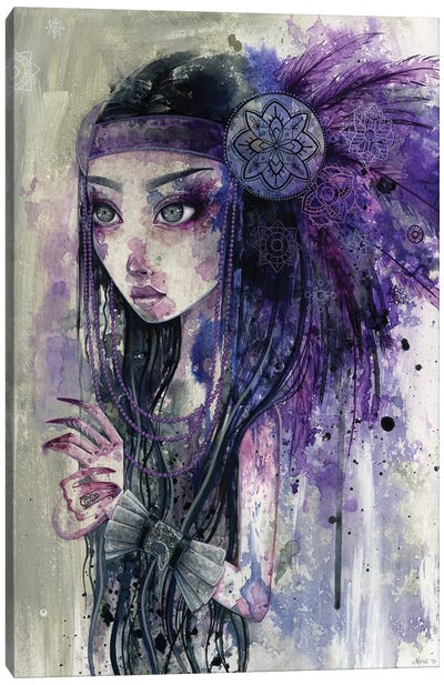 Old Sorrows Canvas Art Print