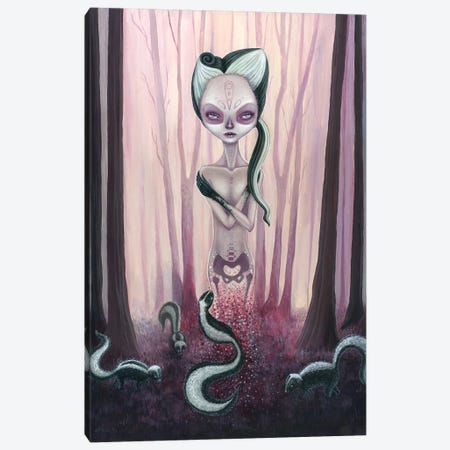 Reincarnation Canvas Print #MAJ47} by Megan Majewski Canvas Wall Art