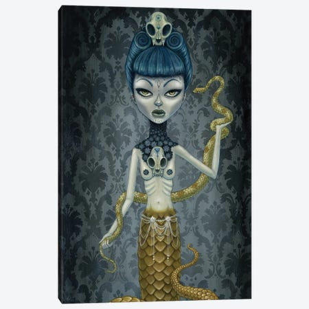 Selina Canvas Print #MAJ51} by Megan Majewski Canvas Wall Art