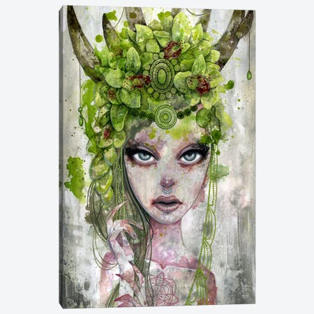 Summer's Crown Canvas Print #MAJ56} by Megan Majewski Canvas Print