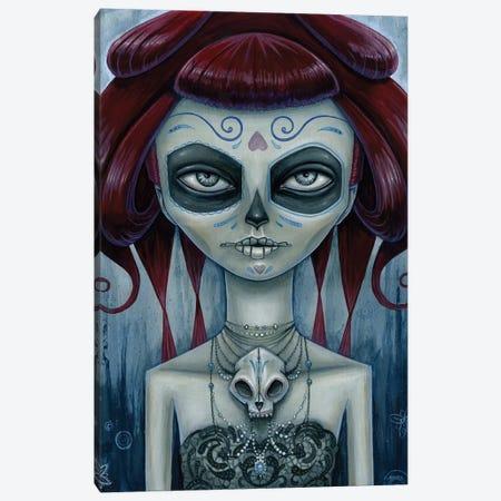 Sweet Rose Canvas Print #MAJ59} by Megan Majewski Canvas Artwork