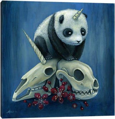 The Birth Of Pandacorn Canvas Art Print