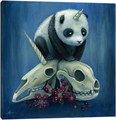 The Birth Of Pandacorn Canvas Art Print