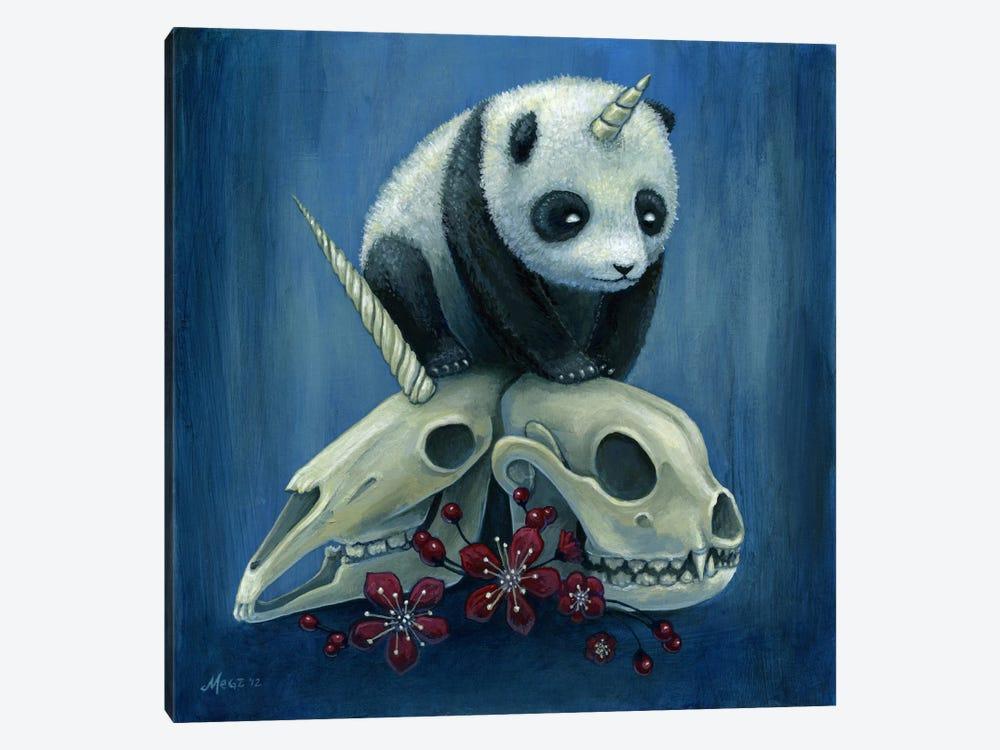 The Birth Of Pandacorn by Megan Majewski 1-piece Canvas Art Print