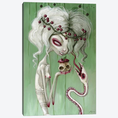 The Sweet Taste Of Death Canvas Print #MAJ63} by Megan Majewski Canvas Print