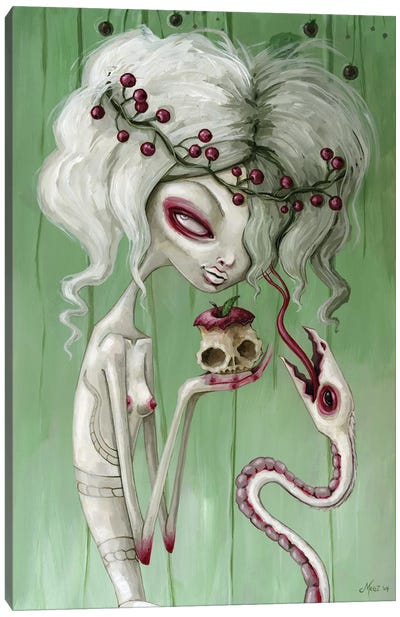 The Sweet Taste Of Death Canvas Art Print