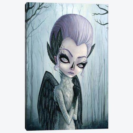 Violet Canvas Print #MAJ65} by Megan Majewski Canvas Artwork