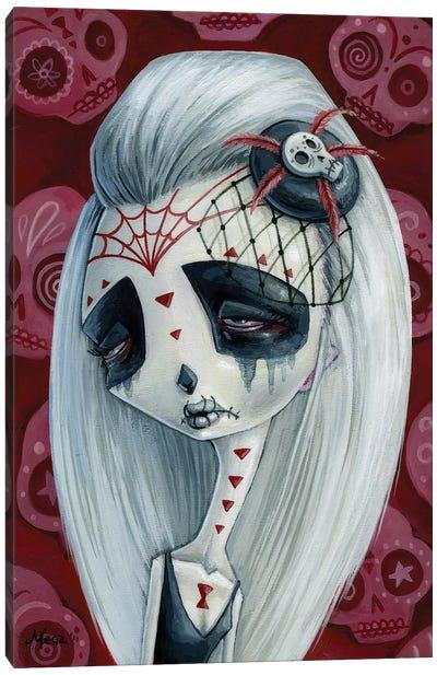 Viuda De Los Muertos Canvas Art Print