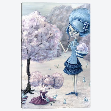 Cotton Candy Harvest Canvas Print #MAJ70} by Megan Majewski Canvas Art