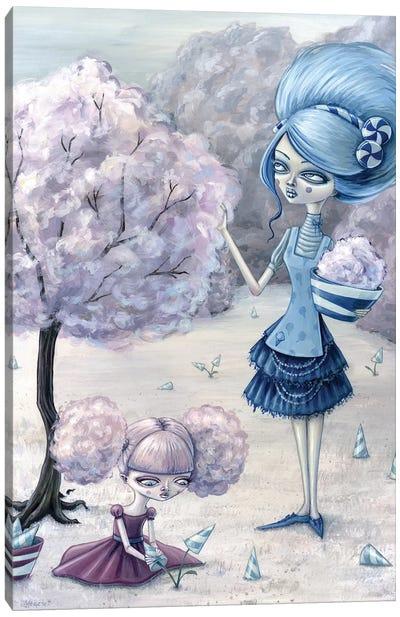 Cotton Candy Harvest Canvas Art Print