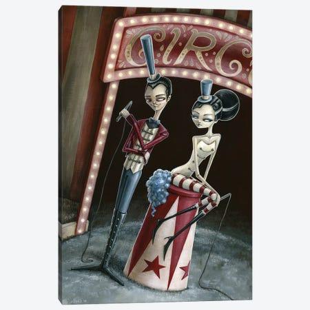 Raven And Ria Ringmaster And Ring Mistress Canvas Print #MAJ71} by Megan Majewski Canvas Artwork