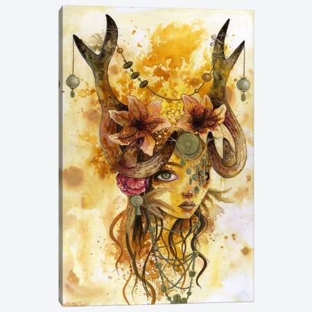 Autumn's Sun Canvas Print #MAJ9} by Megan Majewski Art Print