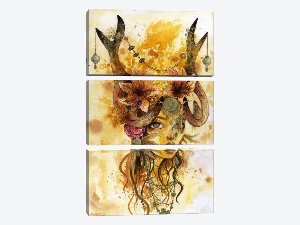 Autumn's Sun by Megan Majewski 3-piece Canvas Artwork