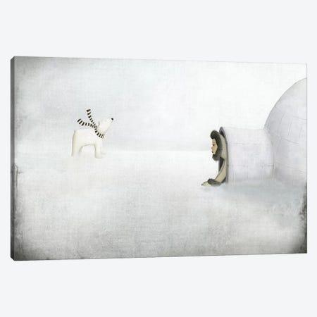 The Igloo Canvas Print #MAL11} by Majali Canvas Artwork