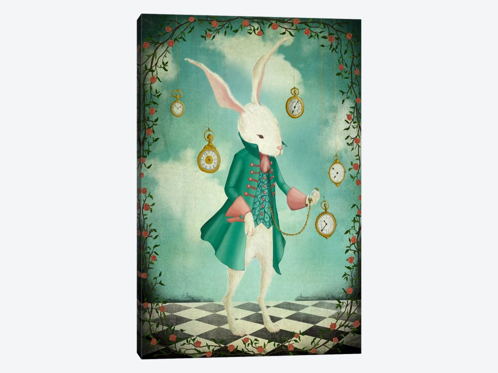 The White Rabbit by Majali 1-piece Canvas Art
