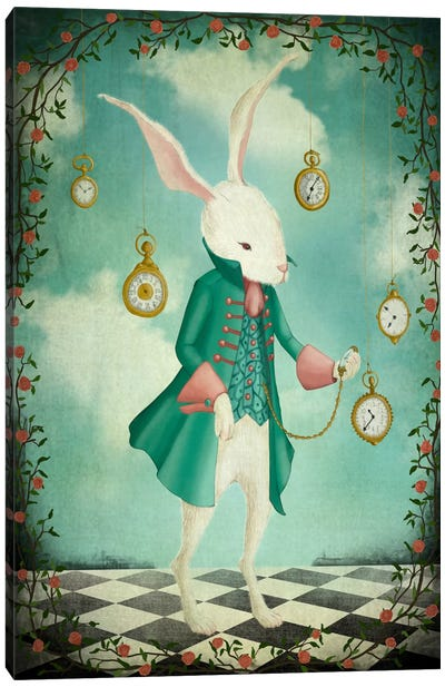 The White Rabbit Canvas Art Print