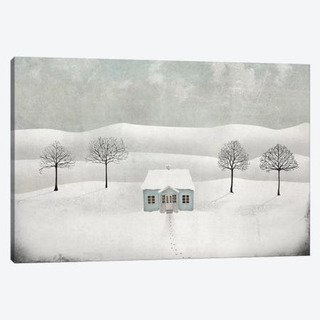 Winterland Canvas Print #MAL15} by Majali Art Print