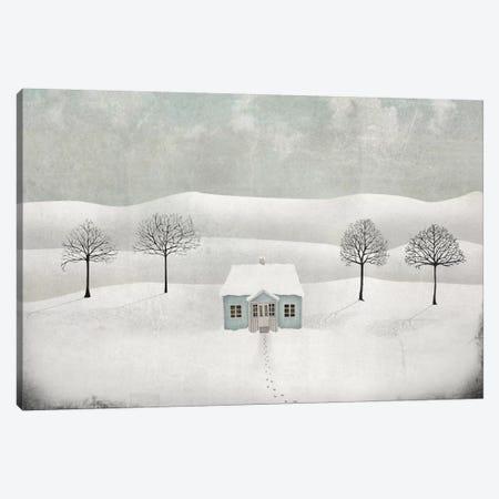 Winterland Canvas Print #MAL15} by Majali Art Print