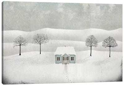 Winterland Canvas Art Print