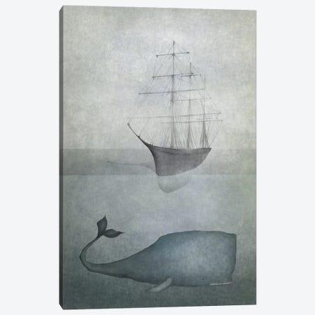 Deep Water Canvas Print #MAL4} by Majali Canvas Art