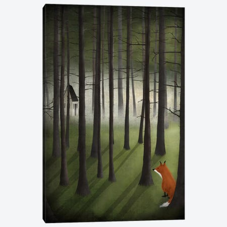 Glade Canvas Print #MAL7} by Majali Canvas Wall Art