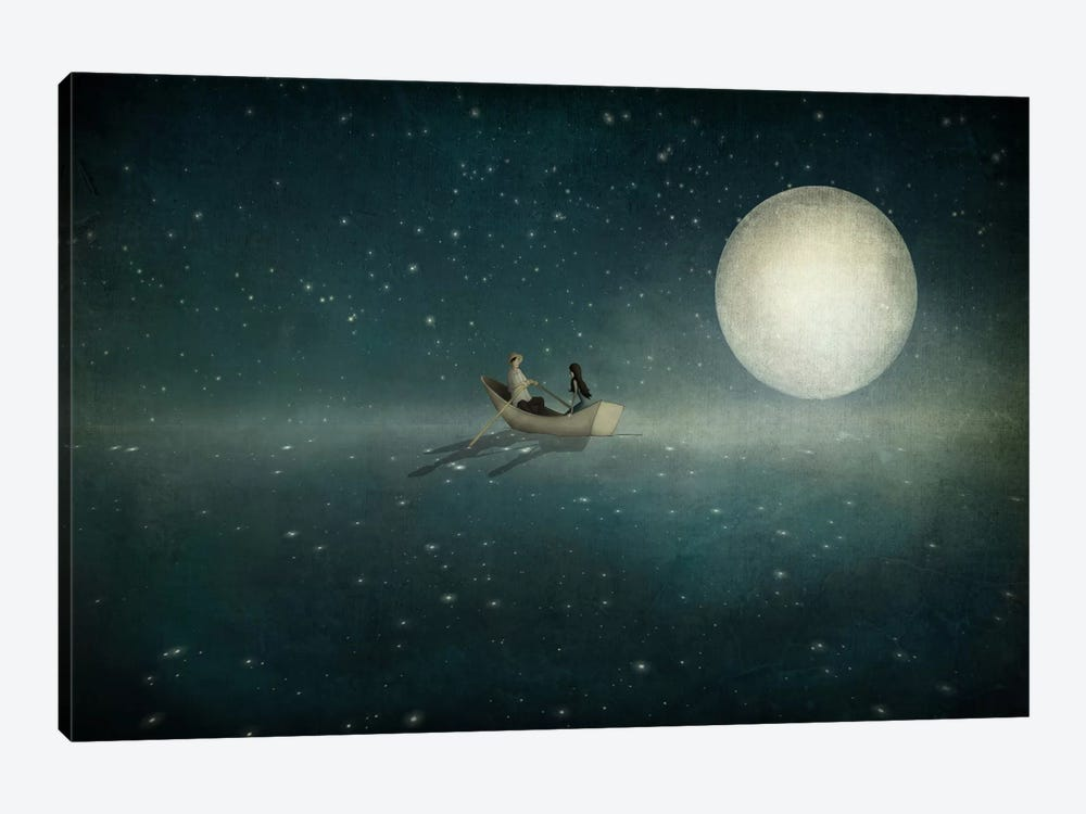 Moonlight by Majali 1-piece Canvas Print