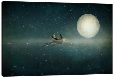 Moonlight Canvas Art Print