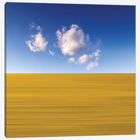 Sky And Land Canvas Print #MAO101} by Marco Carmassi Canvas Artwork
