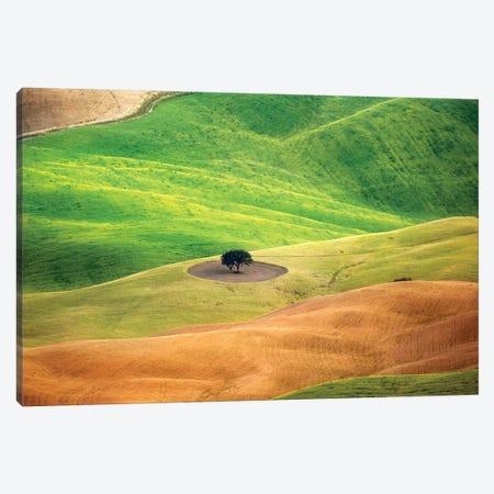 Pienza Tuscany Canvas Print #MAO102} by Marco Carmassi Canvas Wall Art