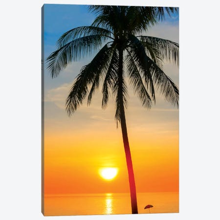Thailand Sunset Canvas Print #MAO103} by Marco Carmassi Canvas Artwork