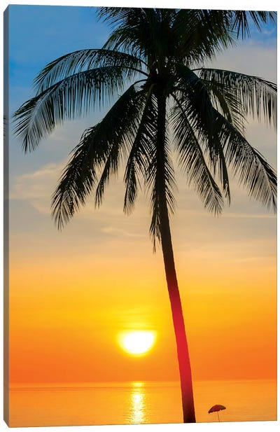 Thailand Sunset Canvas Art Print