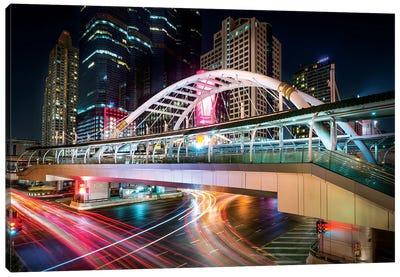 Bangkok Bridge Canvas Art Print