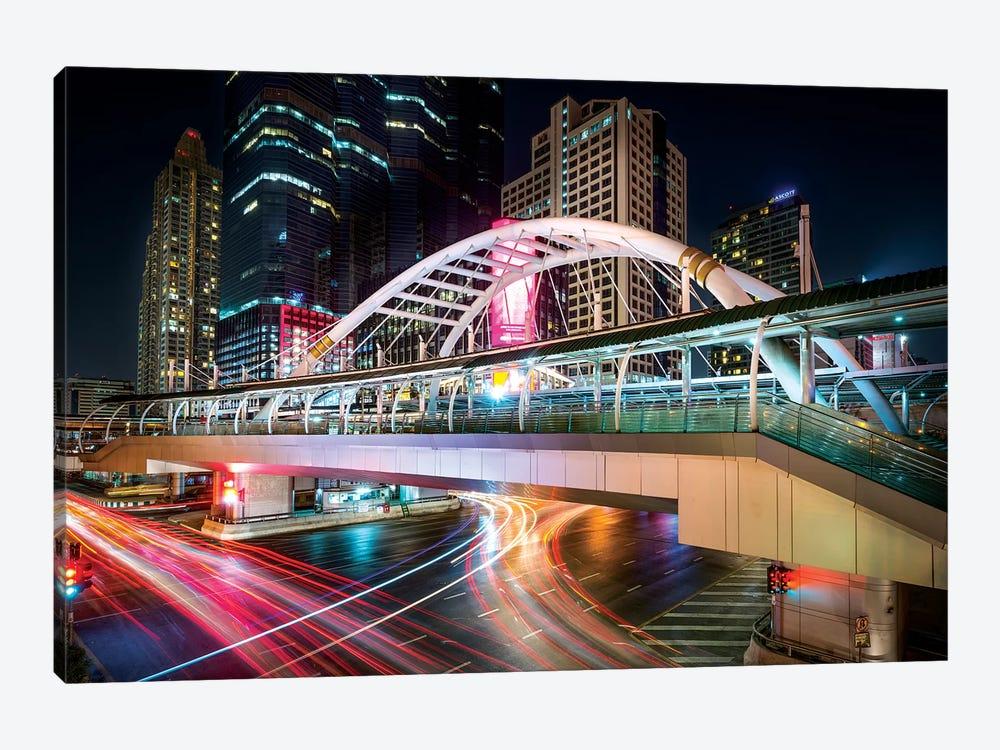 Bangkok Bridge by Marco Carmassi 1-piece Canvas Print