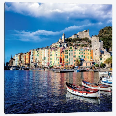 Portovenere Canvas Print #MAO109} by Marco Carmassi Canvas Art