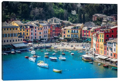 Portofino Canvas Art Print