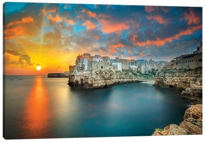 Polignano A Mare Canvas Art Print