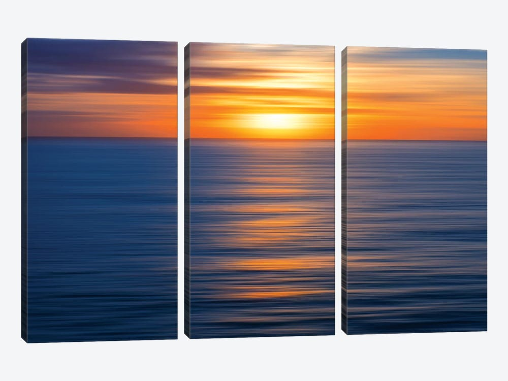 A New Day Has Come by Marco Carmassi 3-piece Canvas Wall Art