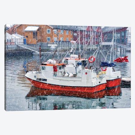 Arctic Seaport Canvas Print #MAO131} by Marco Carmassi Canvas Print
